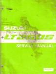 Used Official 1989-1990 Suzuki LT250S Quad Sport ATV Service Manual