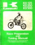 Used Kawasaki KX125 KX250 KX500 Race Preparation Tuning Manual