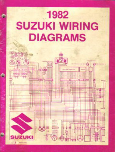 used 1982 suzuki atv and motorcycle wiring diagram and used 1982 suzuki atv and motorcycle wiring diagram and troubleshooting book