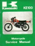 Used Official 1979 Kawasaki KE100A8 Factory Service Manual