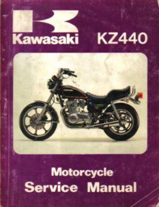 1980-1982 Kawasaki KZ440 Factory Service Manual