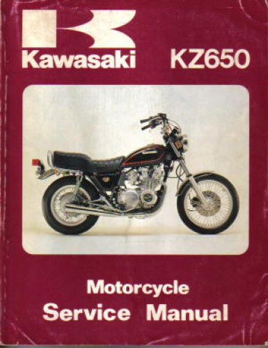 Used 1981-1982 Kawasaki KZ650 D4 F2F3 H1 and H2 Service Manual on h1 wiring diagram, z1000 wiring diagram, klr650 wiring diagram, zx10 wiring diagram, er6n wiring diagram, ninja 250r wiring diagram, kz1300 wiring diagram, z1 wiring diagram, gs550 wiring diagram, zx1000 wiring diagram, kl600 wiring diagram, klr250 wiring diagram, kz1000 wiring diagram, kawasaki wiring diagram, kz440 wiring diagram, zl900 eliminator wiring diagram, gs750 wiring diagram, zg1000 wiring diagram, z400 wiring diagram, ex250 wiring diagram,