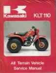 Used Kawasaki KLT110 1984 Factory Service Manual
