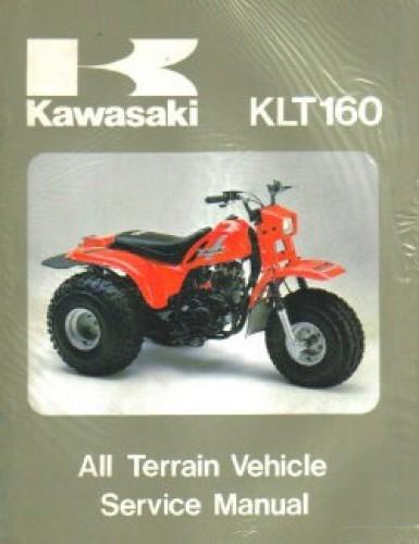 Used 1985 Kawasaki KLT160 Service Manual Kawasaki Klt Wiring Diagrams on