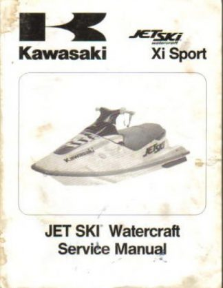 Used Official 1998 Kawasaki JH750-G1Jet Ski XiSport Factory Service Manual Supplement