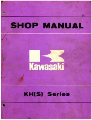 Used Official 1972-1976 Kawasaki KSS Series Factory Service Manual