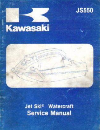 1977 1981 kawasaki js440 a 1 a5 jet ski js440 service manual rh repairmanual com Kawasaki JS300 Specs Kawasaki JS300 AJ