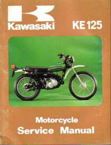 Kawasaki KS125 KE125 1974-1985 Motorcycle Service Repair Manual