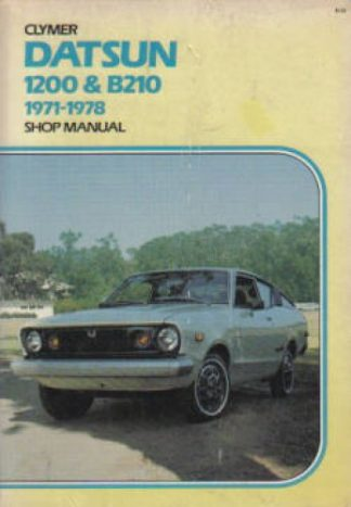 Used Datsun 1200 B210 1971-1978 Clymer Shop Manual