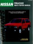 Used Chilton Nissan Pick-Ups and Pathfinder 1989-1991 Repair Manual