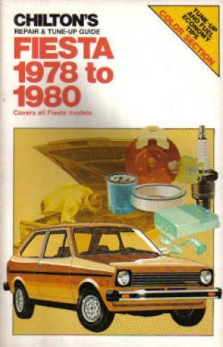 Used Chilton Ford Fiesta 1978-1980 Auto Repair Manual