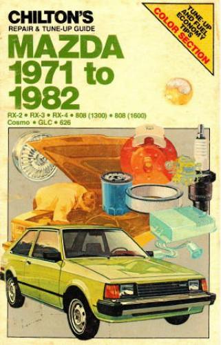 Used Chilton Mazda 1978-1989 Repair Manual