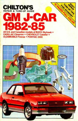 Used Chilton 1982-1985 Repair Tune up Guide Manual