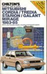 Used Chilton Mitsubishi 1983-1985 Auto Repair Manual