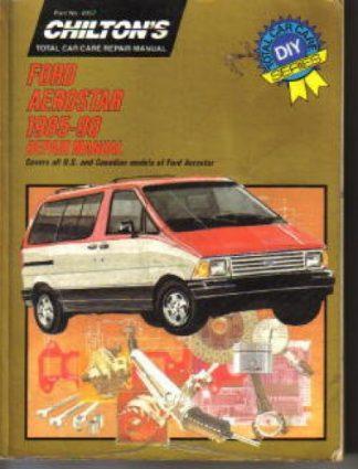 Used Chilton Ford Aerostar 1985-1990 Repair Manual