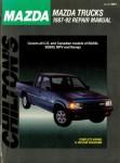 Chilton Mazda Trucks 1987-1992 Auto Repair Manual Used