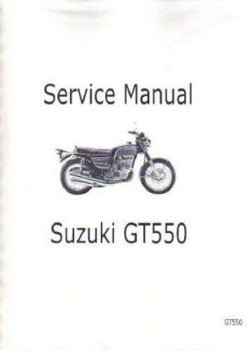 1973 1977 suzuki gt550 motorcycle service manual Su80cc Zuki Motorcycles Manuals Su80cc Zuki Motorcycles Manuals