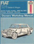 Used Haynes Fiat 124 Sedan Wagon 1966-1975 Auto Repair Manual