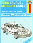 Ford Taurus and Mercury Sable Owners Workshop Manual 1986-1988