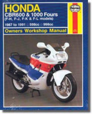 Haynes 1987-1991 Honda CBR600 and CBR1000 Motorcycle Repair Manual