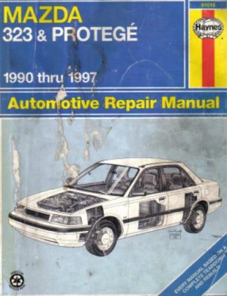 1990 mazda 323 protege 2wd 4wd service repair shop manual set oem factory 90