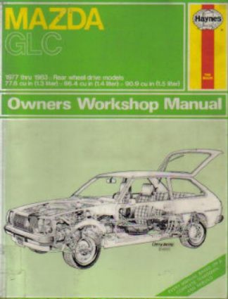 Mazda GLC Repair Manual 1977-1983 Haynes Used