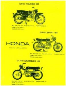 Uhcacbcl T X on Honda Cb160 Parts List