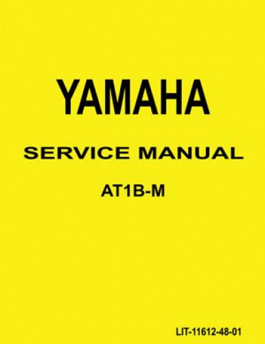 Official 1969 Yamaha AT1M and 1970 Yamaha AT1B Series Factory Service Manual
