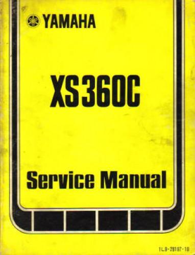 used 1976 yamaha xs360c motorcycle owners service manual Yamaha XS650 Stock service manual yamaha xs 650