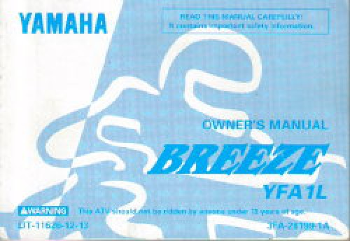 Yamaha Owners Manual Lit L