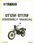 Used 1979 Yamaha DT125F And DT175F Assembly Manual