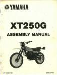 Used 1980 Yamaha XT250G Assembly Manual