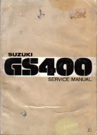 Suzuki 1977-1978 GS400 Factory Service Manual