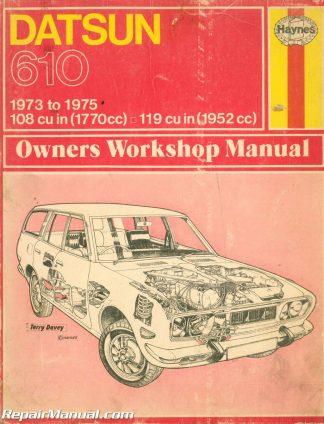 Used 1973 – 1975 Datsun 610 Haynes Repair Manual