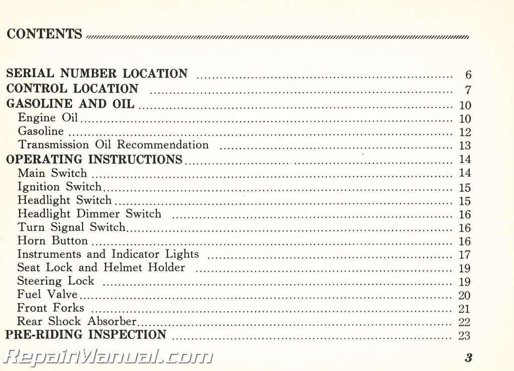 1973    Honda    MT250 Motorcycle Owners Manual   eBay