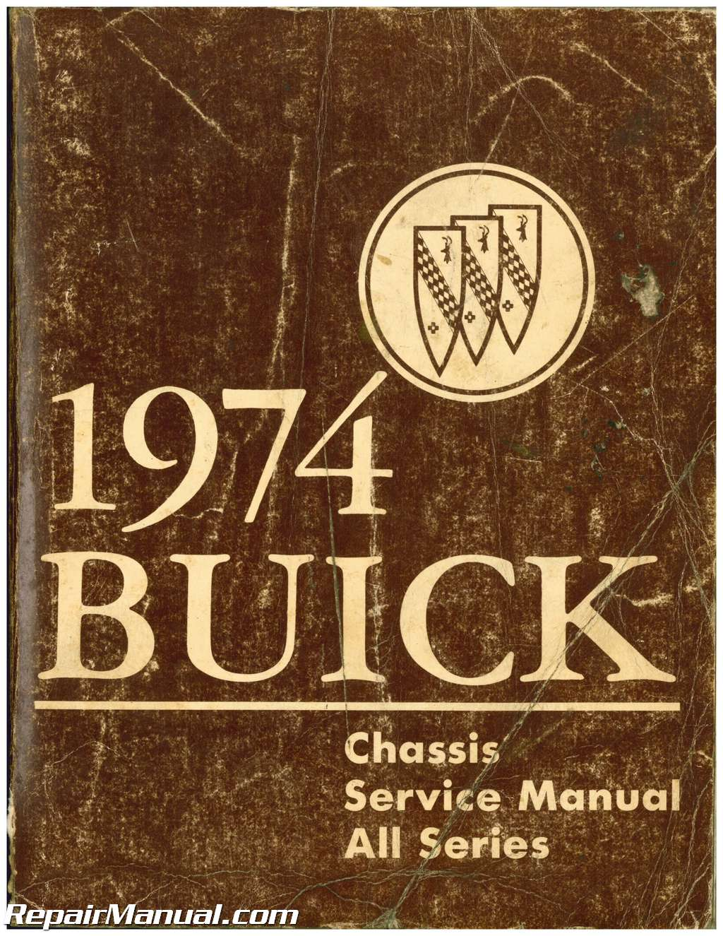 used 1974 buick chassis service manual rh repairmanual com buick service manual pdf buick service manual pdf