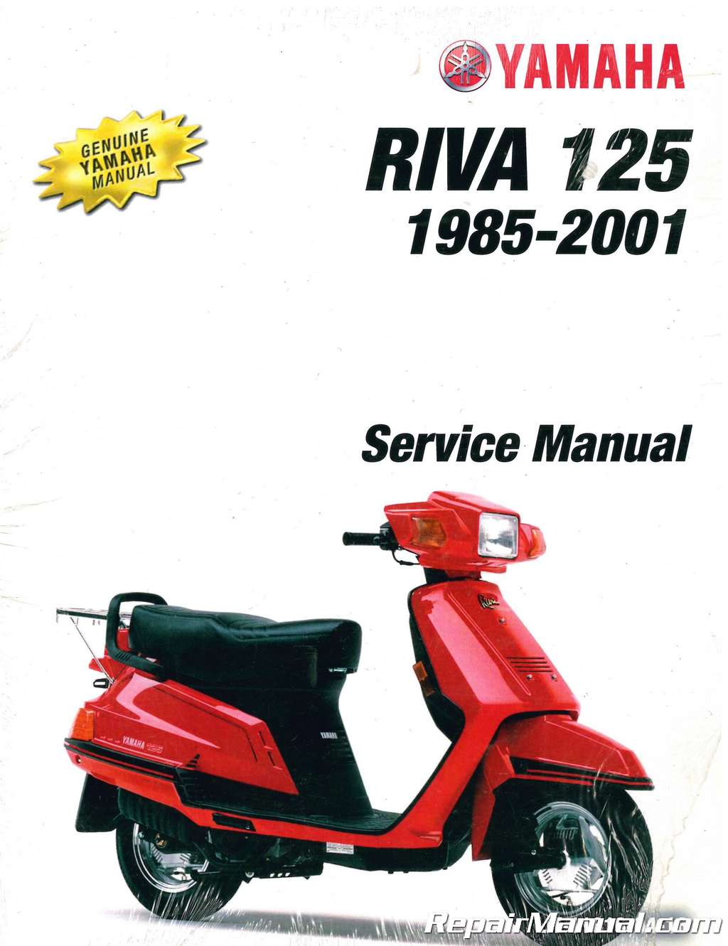 yamaha riva 125 wiring schematic parts   accessories other motorcycle manuals 1985 2001 yamaha riva  1985 2001 yamaha riva