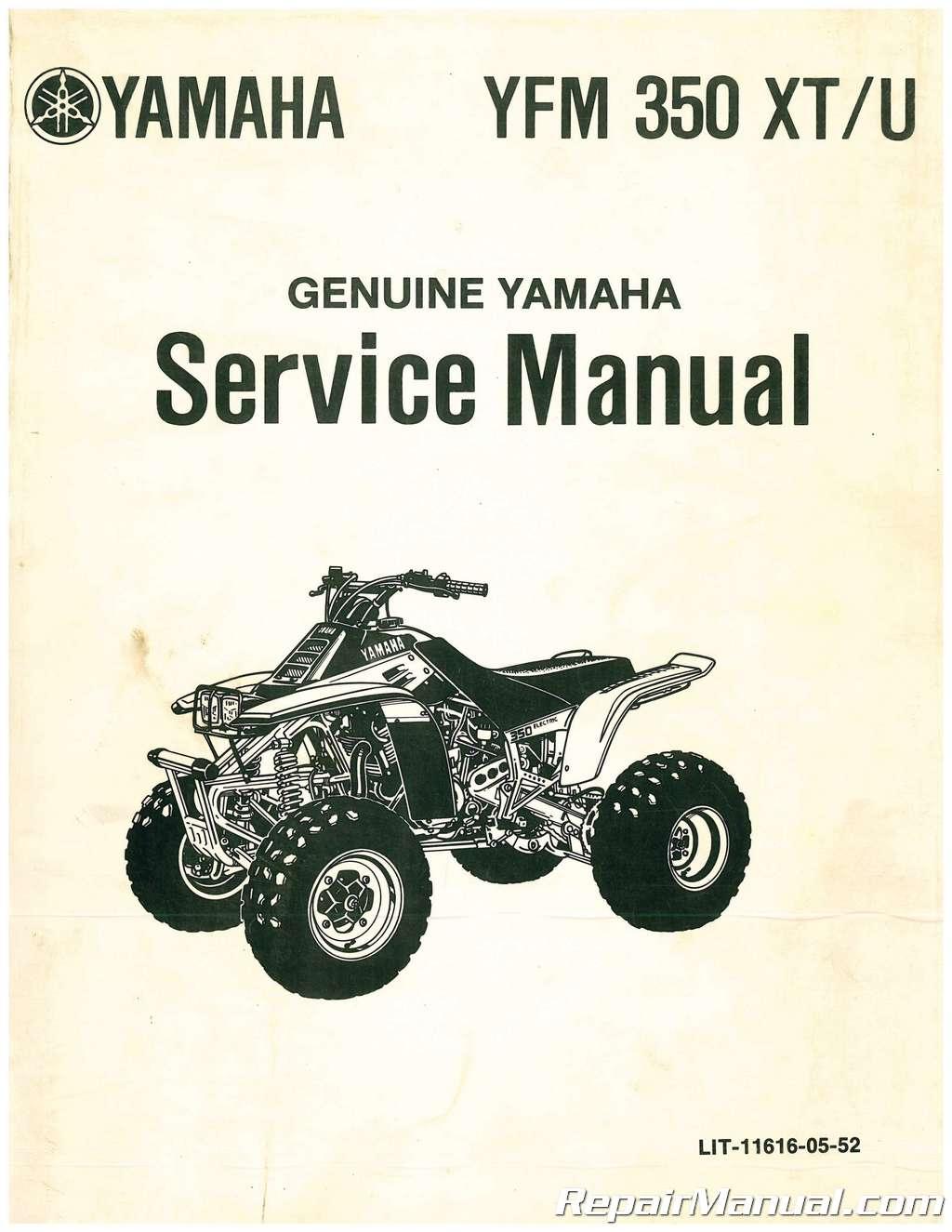 used 1986 1987 yamaha yfm350x warrior atv service manual rh repairmanual com 1988 Yamaha Warrior 350 2002 Yamaha Warrior 350