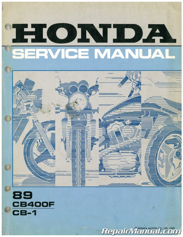 Used 1989 Honda Cb400f Cb