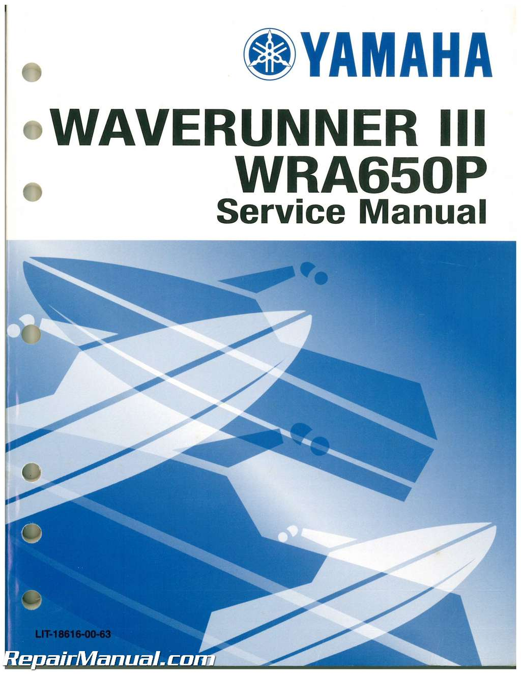 Used 1991 Yamaha Waverunner Iii Wra650p Service Manual Yamaha Waverunner  Engine Schematics Yamaha Waverunner Schematics
