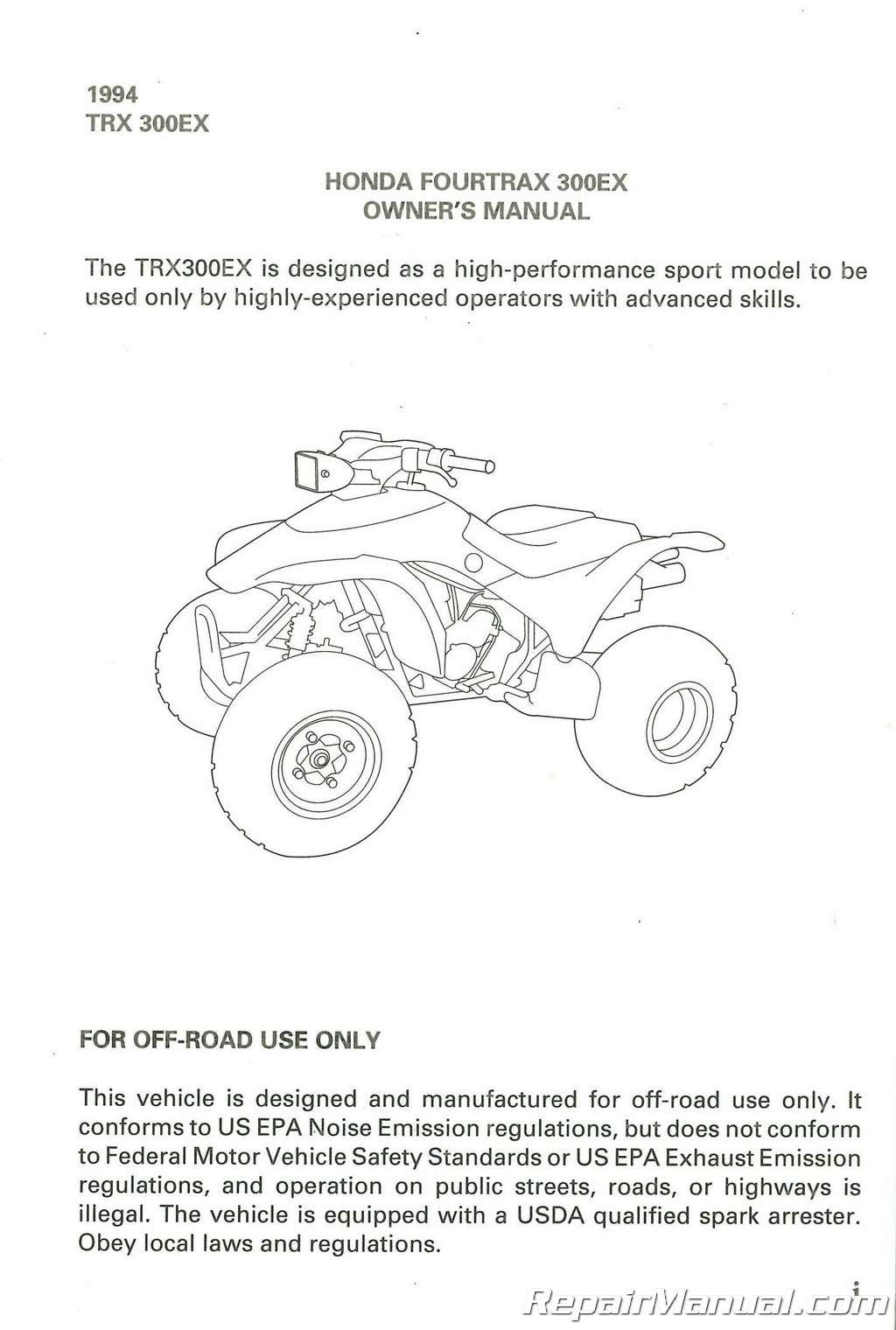 honda 300ex atv engine diagram wiring library 1988 Honda FourTrax Engine Diagram