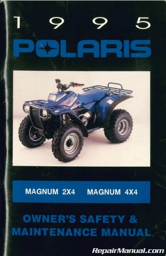 HAYNES SERVICE REPAIR MANUAL M2302 POLARIS TRAIL BOSS 300 2X4 4X4 1994-1995
