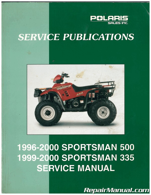 Manuals Polaris Sportsman 500 Rse 1996 2000 Service Manual Pdf Full Version Hd Quality Service Manual Rocketdiagrams 5avenues Fr