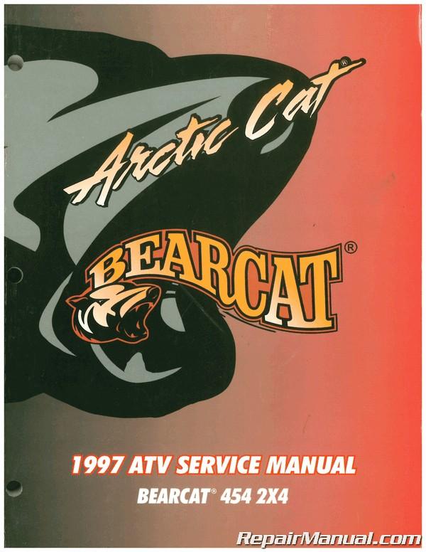 Used 1997 Arctic Cat Bearcat 454 2 4 Atv Service Manual