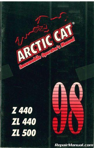 Arctic Cat Snowmobile Owners Manual
