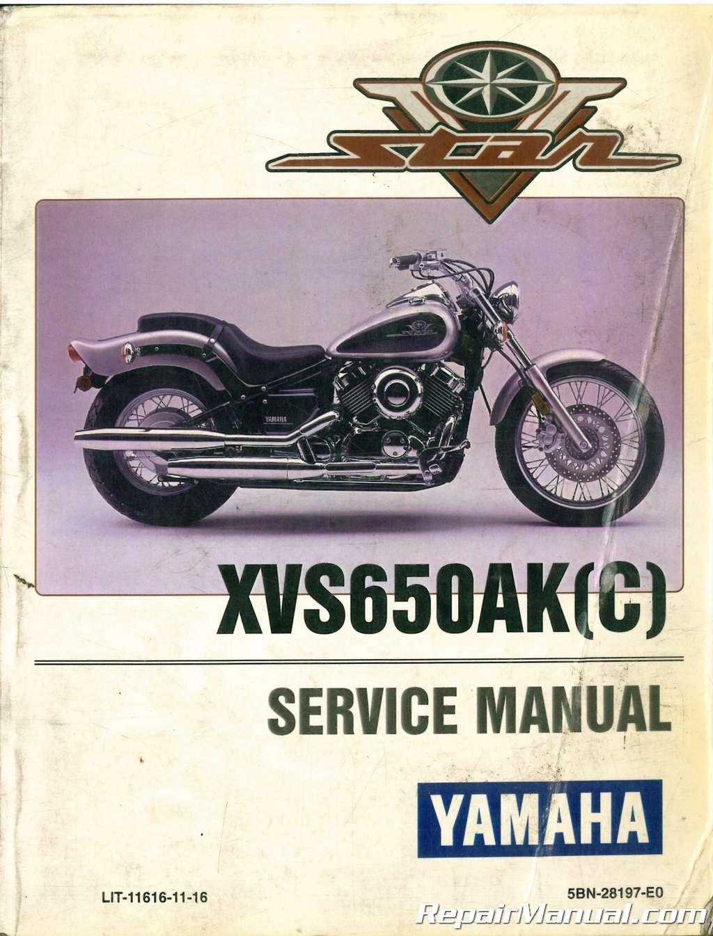 vintage yamaha motorcycle repair