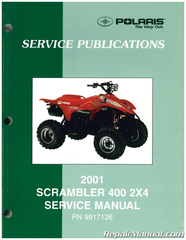 Used 2001 Polaris Scrambler 400 Service Manual