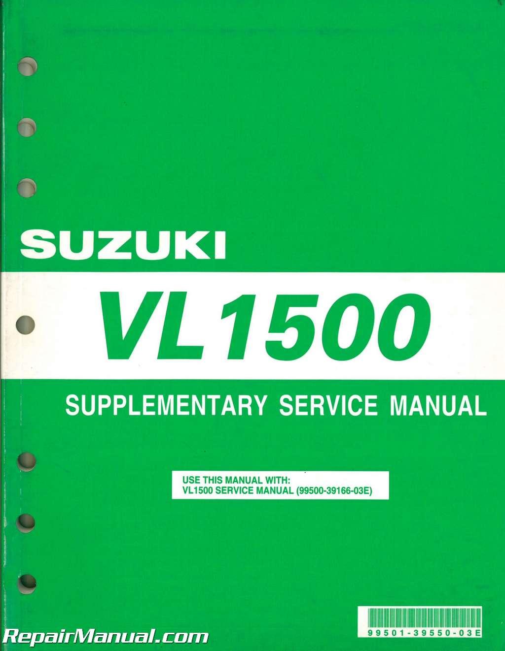 Suzuki Intruder Service Manual