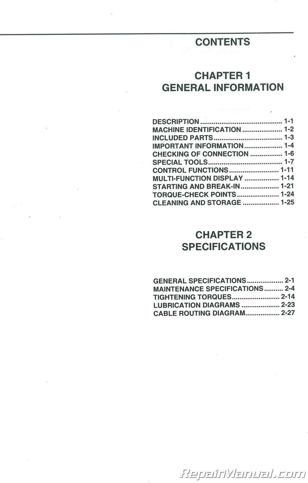 yamaha wr250f manual
