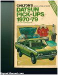 used-chilton-datsun-pickups-1970-1979-repair-manual_001